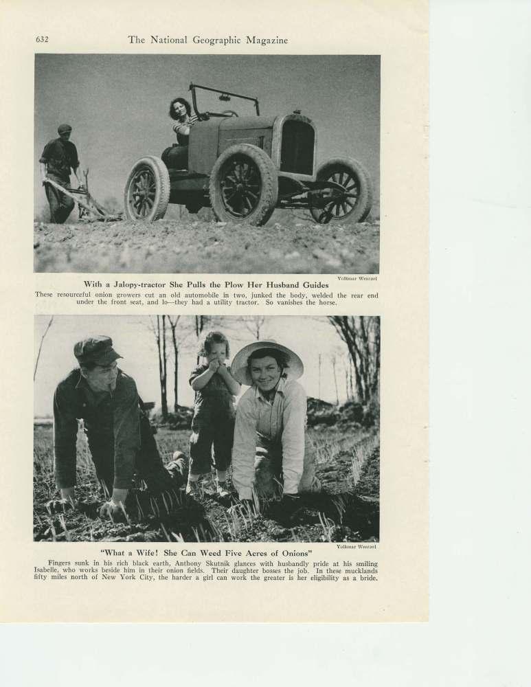 National Geographic November 1941story on the historic black dirt region of Orange County, New York (4/6)