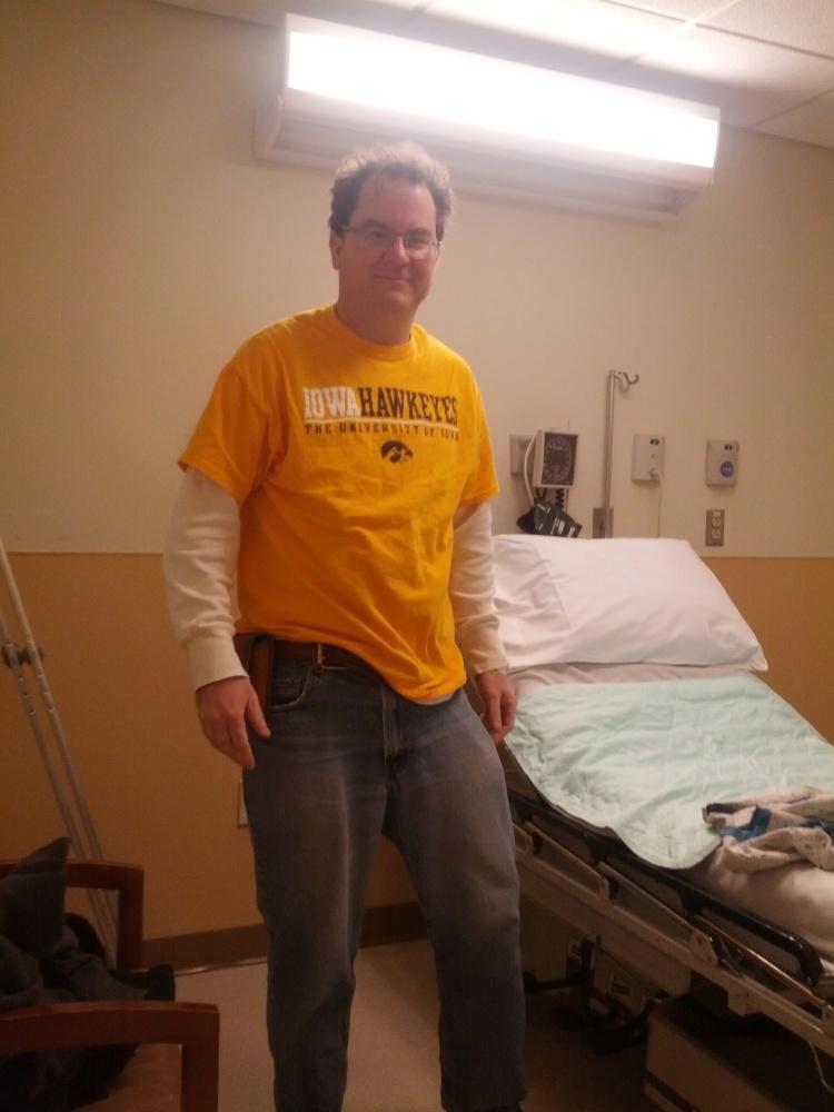 My arthroscopic knee surgery on my meniscus tear! (5/6)
