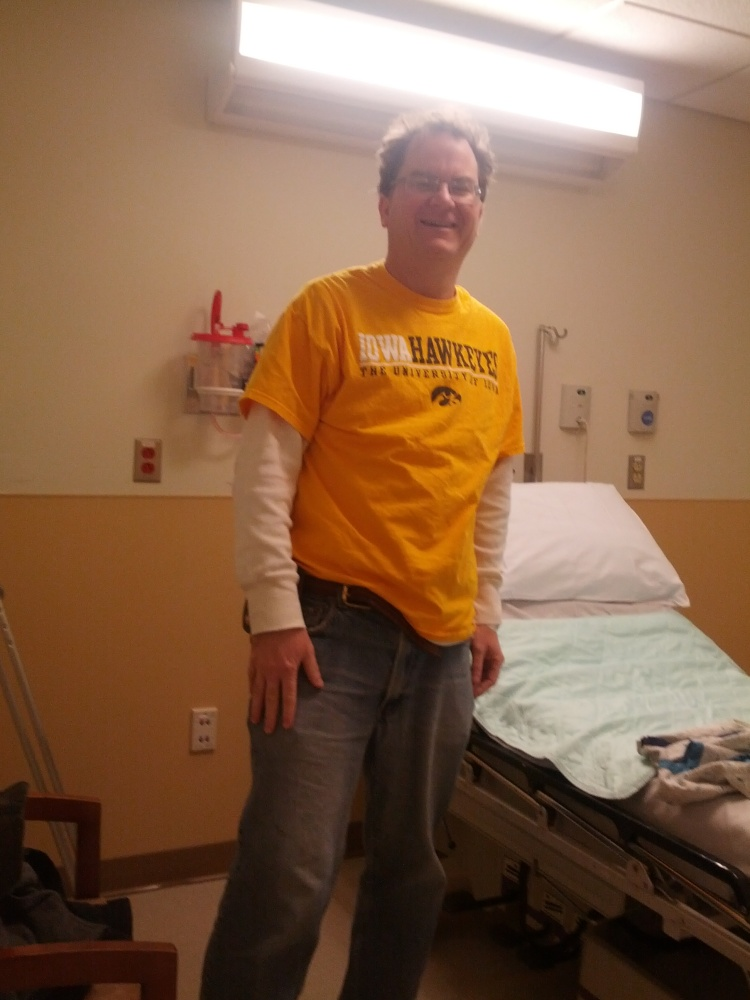 My arthroscopic knee surgery on my meniscus tear! (6/6)