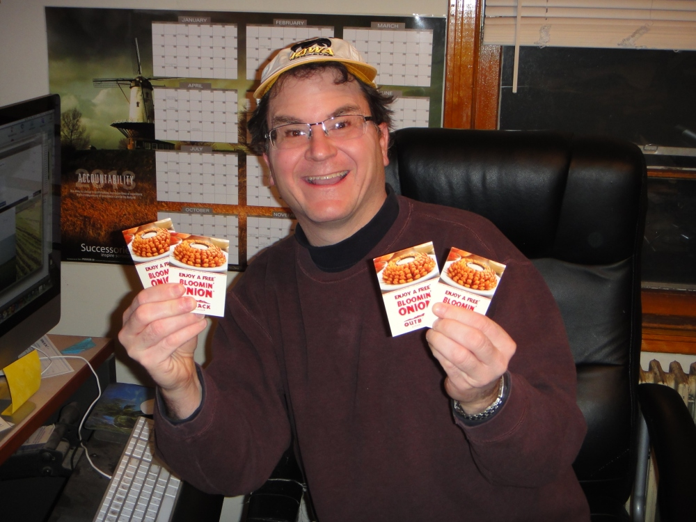 The Great Muckville Blog Free Bloomin' Onion Essay Contest! (5/5)