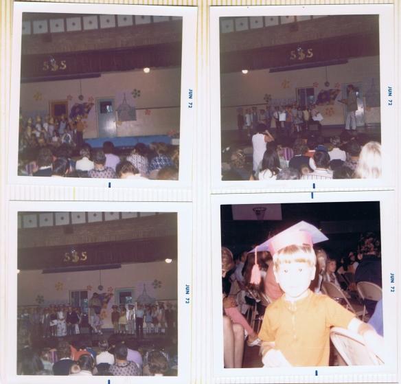 Kindergarden grad SS Seward 1972