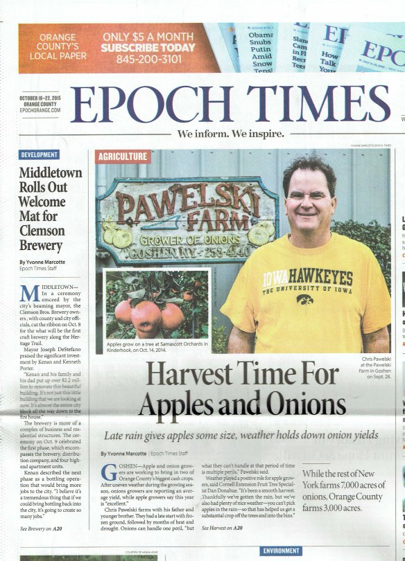 Epoch Times October 16-22 2015 pg 1